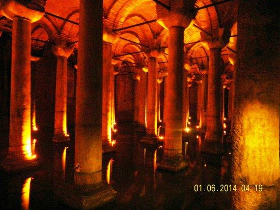 Basilica Cistern: magnificient architecture
