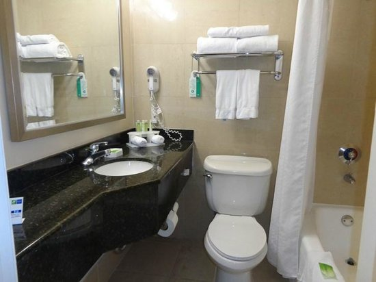 Holiday Inn Express Van Nuys: bathroom