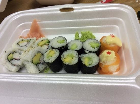 Ocean Basket N1 City: different sized maki that's supposed to be from 1 roll