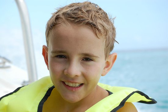 Stuart Cove's Tiger Beach Safaris - Day Tours : One happy boy