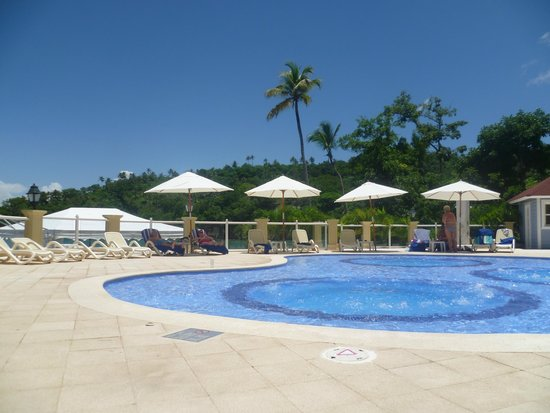 Grand Bahia Principe Cayacoa: The spa pool was always spotlessly clean