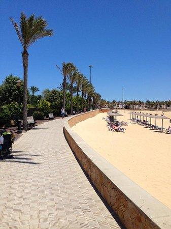 Barceló Fuerteventura Thalasso Spa: Passeggiata spiaggia