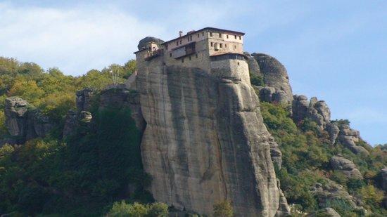 Roussanou Monastery : Монастырь Русану
