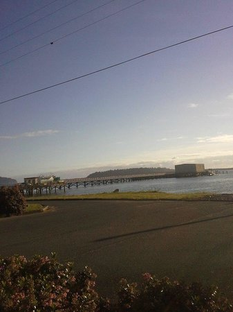 Harborview Inn & RV Park: The view from my campsite