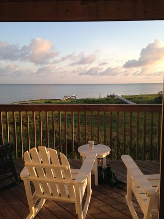 The Inn on Pamlico Sound: View from our room
