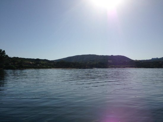 Proteus Diving: View from the boat