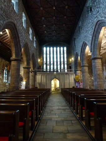 St Machar's Cathedral: The nave looking west
