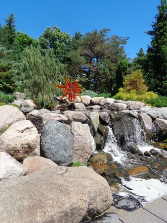 Minnesota Landscape Arboretum: Water and Glass in Nature