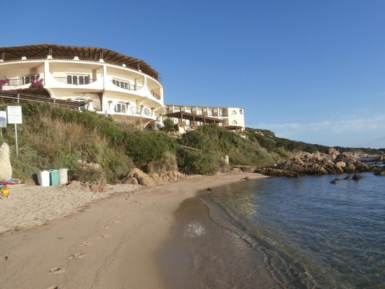 Club Hotel : View of Hotel and location to sea