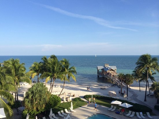 The Reach, A Waldorf Astoria Resort: Stayed in room 538. This is the view from our room