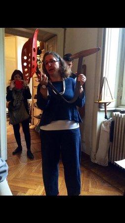 Studio Museo Achille Castiglioni : His daughter makes the tour stimulating & fun.
