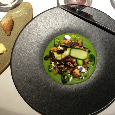 Auberge Saint Jean: a dish!