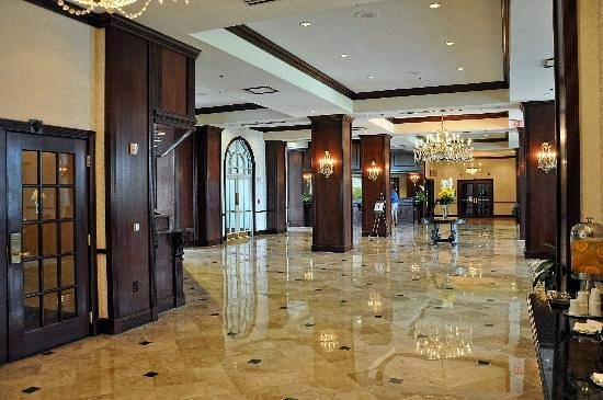 Hilton Atlanta / Marietta Hotel & Conference Center : ENTRANCE AND RECEPTION AREA