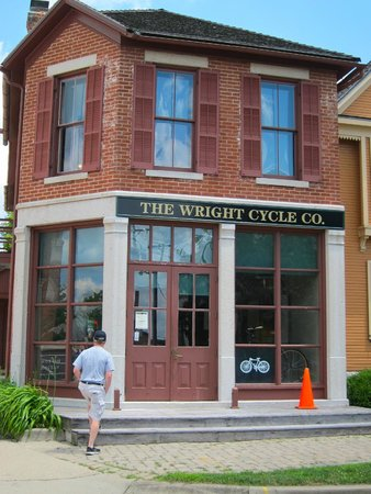 The Wright Cycle Company Complex: Cycle Shop