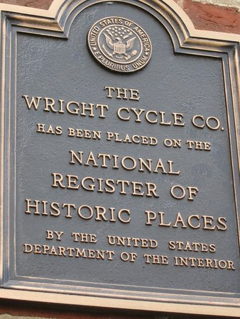 The Wright Cycle Company Complex: Bike shop