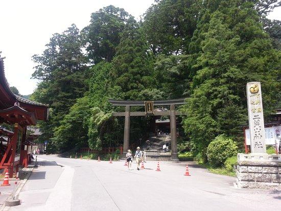 Nikko Futarasan Jinja Shrine : 鳥居