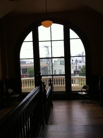 Provincetown Town Hall : View fron second floor landing