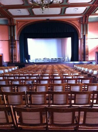 Provincetown Town Hall : Auditorium toward the Stage