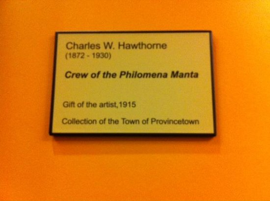 Provincetown Town Hall: Philomina Manta Plaque