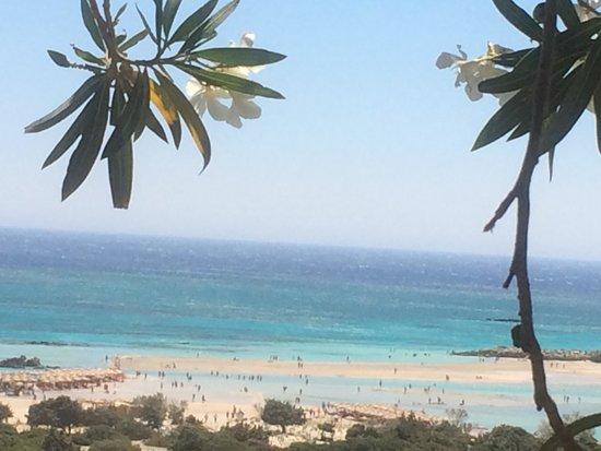Playa de Elafonisi: 1