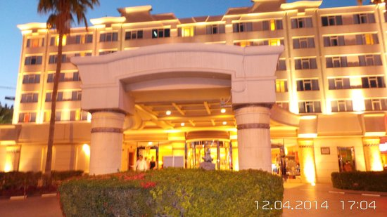 Coral Beach Resort Sharjah: entree hotel