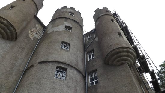 Braemar Castle: Outside of Breamar Castle