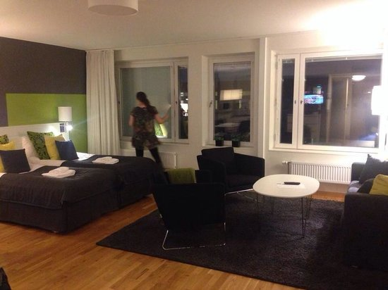 Sky Hotel Apartments Stockholm : Large studio