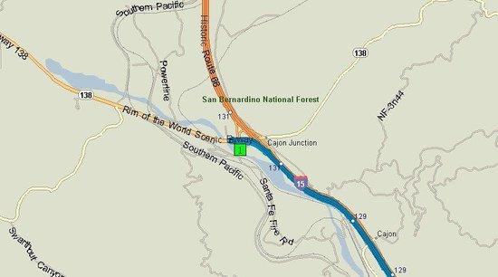 BEST WESTERN Cajon Pass: Map