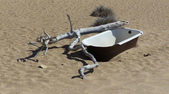 Ciudad fantasma de Kolmanskop: Bathtub