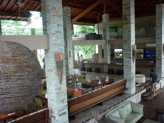 Real Villa Bella Hotel: O belo lobby-restaurante
