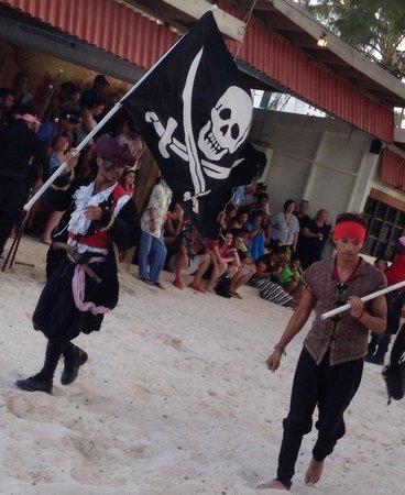 Bavaro Beach: Pirate march
