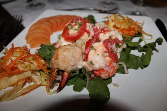 The Pily Pily Restaurant : Food