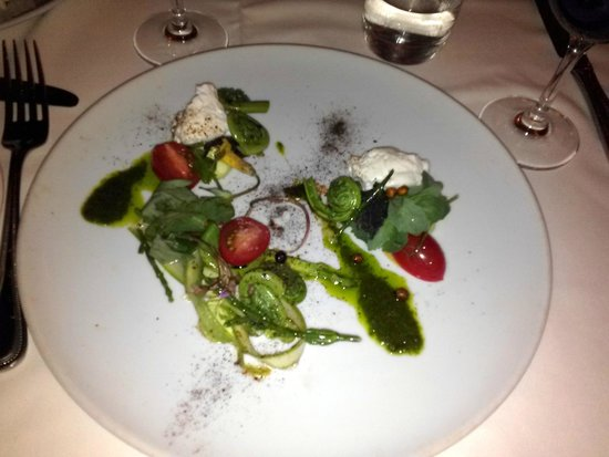 Restaurant Laloux : Forage In the Woods .. fiddleheads