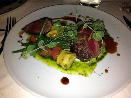 Restaurant Laloux : Bison and Filet