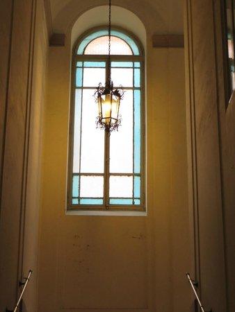 Hotel Alius: Interior del Edificio