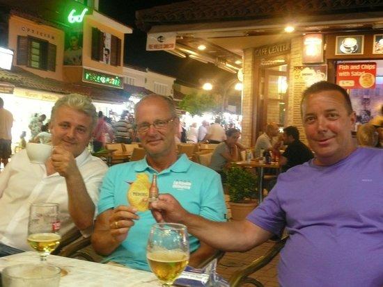 Dedem K. Restaurant: Serkan, Cor en Jan
