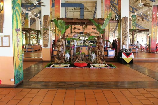 Andilana Beach Resort : Restaurant