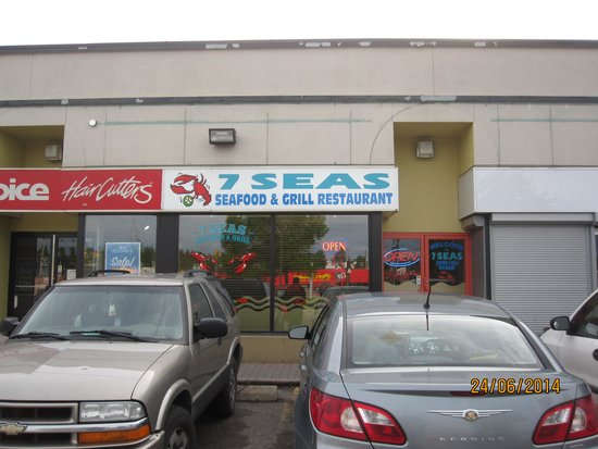 7 Seas Seafood & Grill Restaurant : Exterior