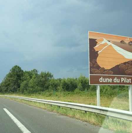 Dune du Pilat : on the road to the dunes