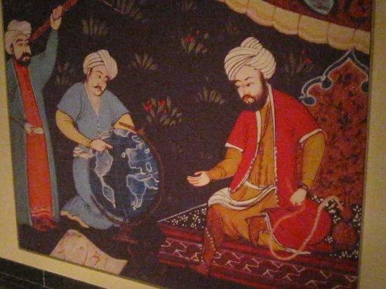Museo de la Civilización Islámica: Tapisserie persannes