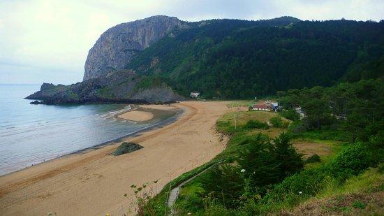 Urresti: Playa de Laga