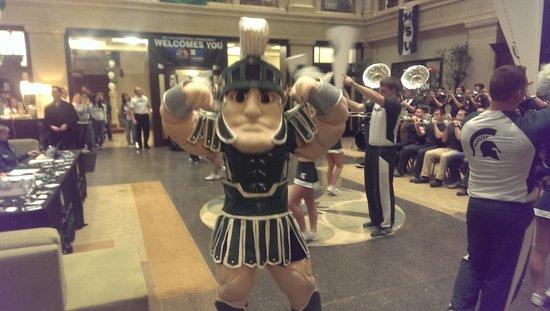 Hilton Garden Inn Indianapolis Downtown : MSU Womens BB - Big Ten Tournament