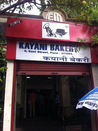 Kayani Bakery: Outside view