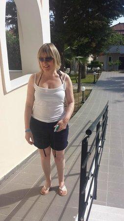 Mediterranee Hotel: On the ramp