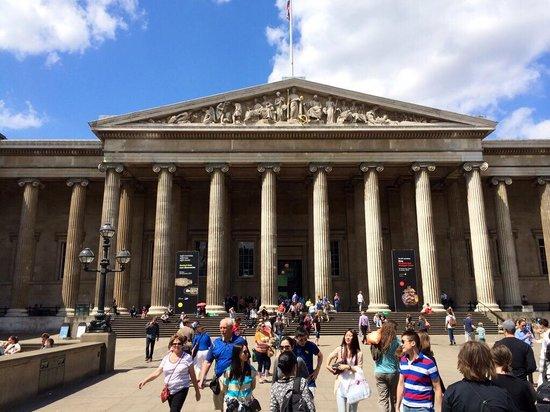 British Museum : Frente do museu britânico