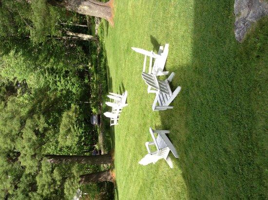 Snowvillage Inn: Yard
