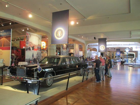 Henry-Ford-Museum: Kennedy Limo