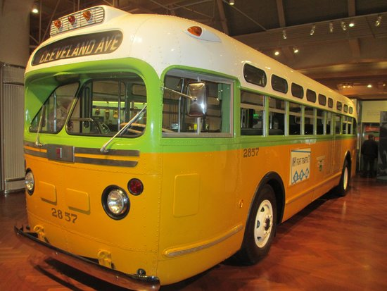 Henry-Ford-Museum: Rosa Parks Bus