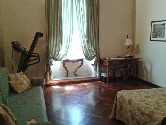 Hotel Fortuna: La camera