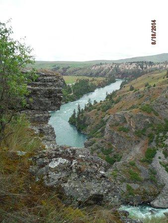 View from Kerr Dam Overlook